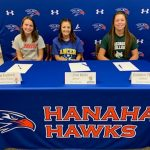 Three Hanahan Athletes participate in Fall Early Signing Day