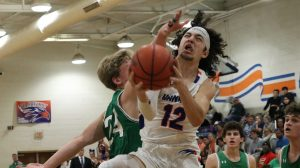 Photo Gallery:  Hanahan Varsity Boys Basketball vs Stratford HS (1.7.2020) & Bishop England HS (1.10.2020) – Photos by Cyril Samonte