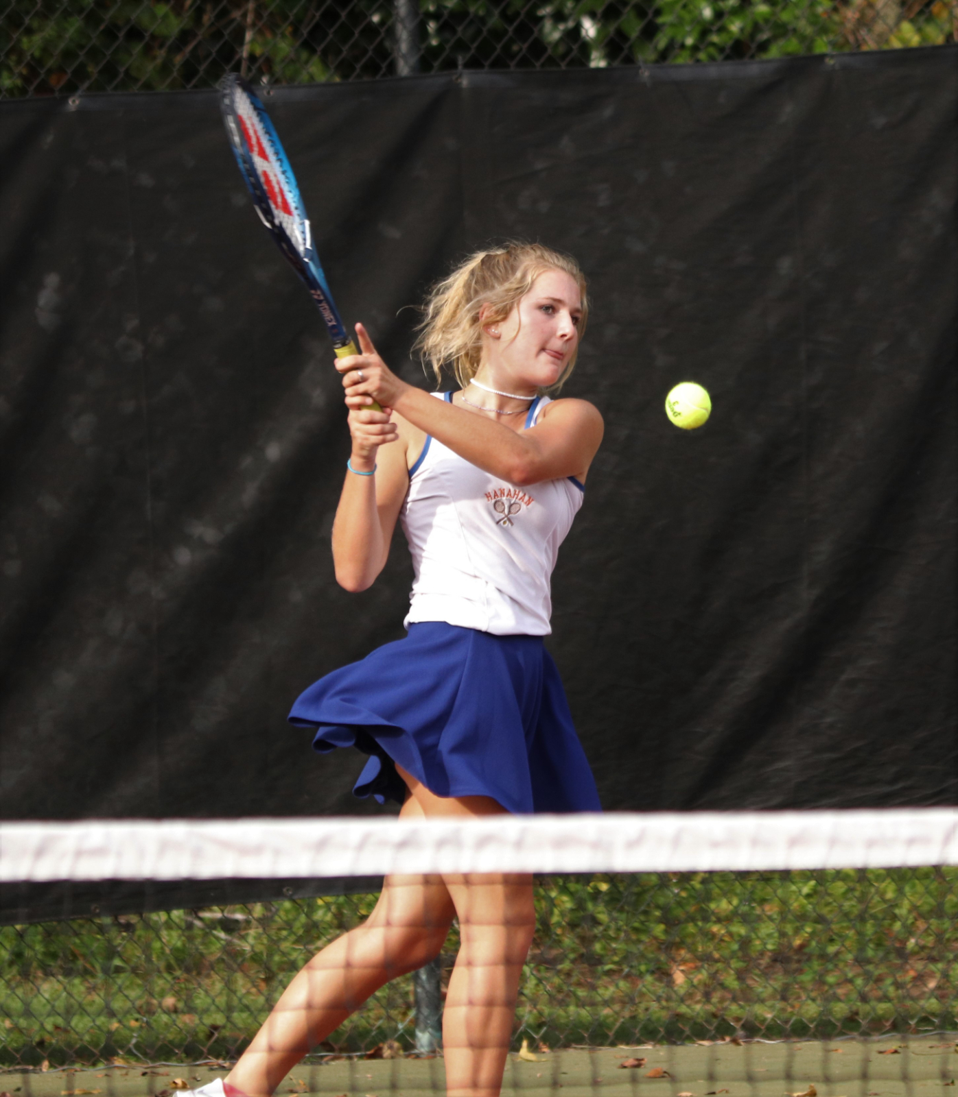 9.15.2020 (PHOTO GALLERY):  HHS Girls Varsity Tennis vs Academic Magnet HS – Photos by Cyril Samonte