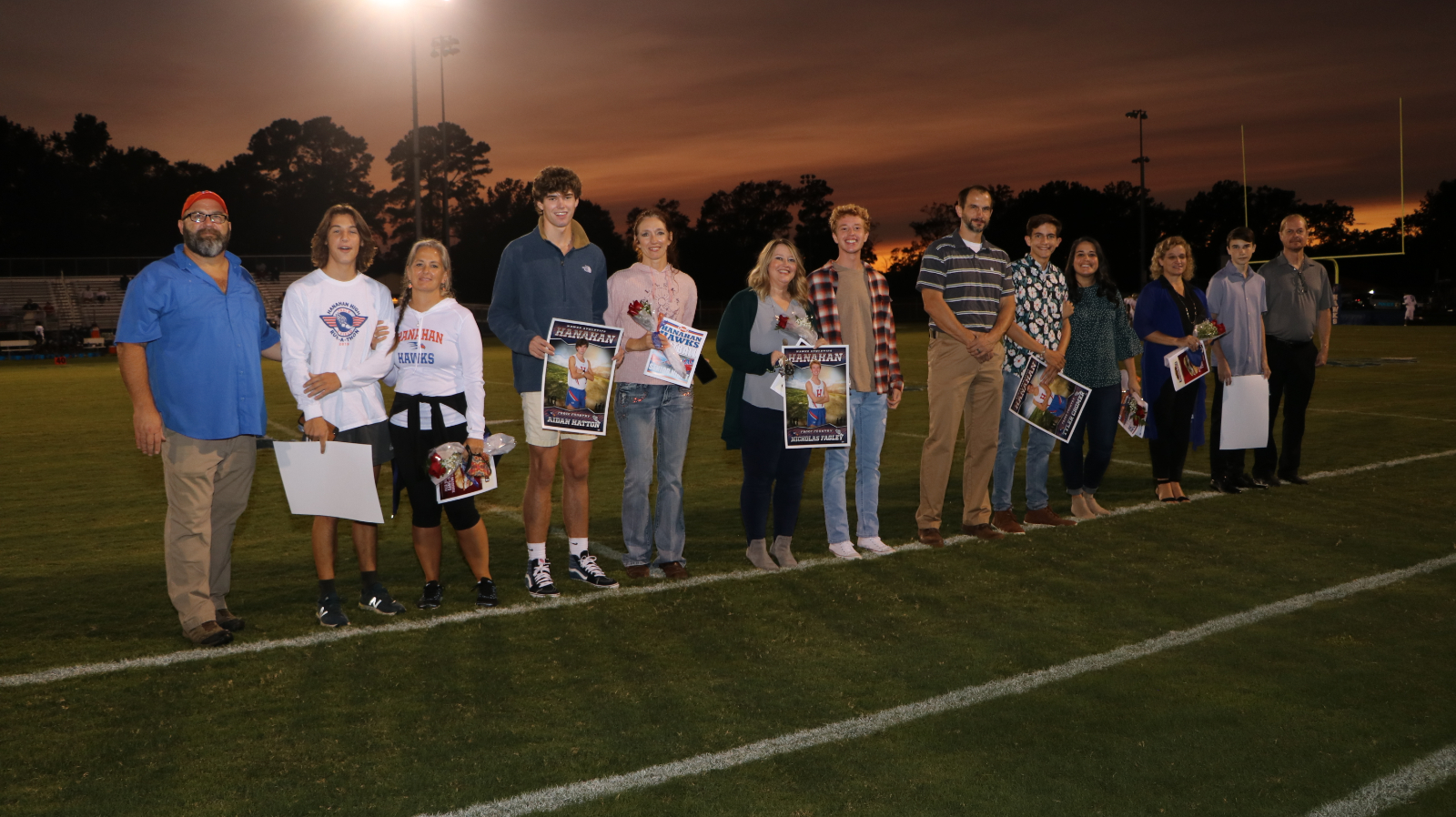 10.2.2020 (PHOTO GALLERY):  Senior Night for Football, Cheer, Band, Cross Country, and Swim – Photos by Cyril Samonte