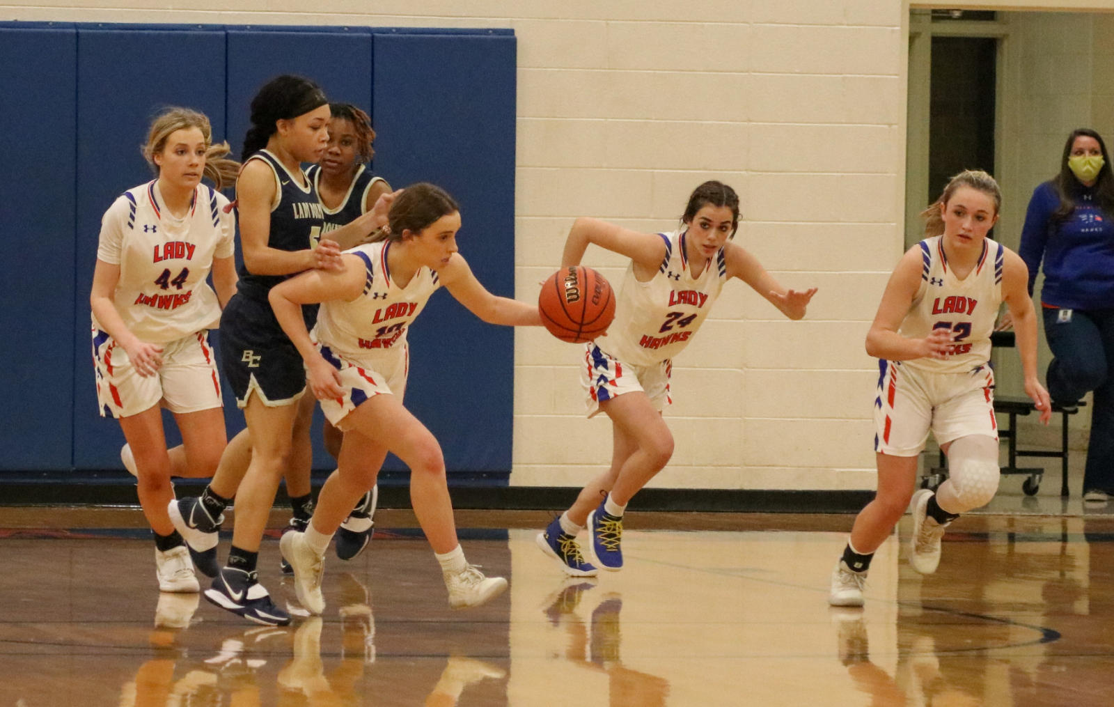 1.8.2021 (PHOTO GALLERY):  Hanahan Varsity Girls BKB vs Battery Creek HS – Photos by Cyril Samonte