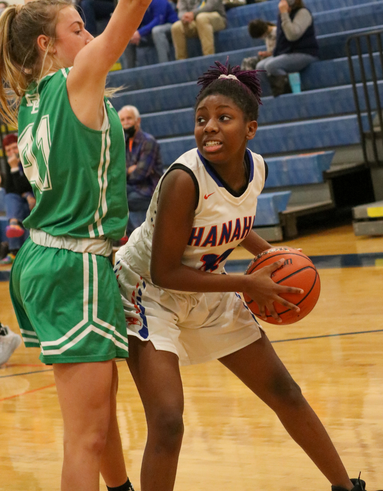 1.11.2021 (PHOTO GALLERY): Hanahan JV Girls BKB vs Bishop England HS – Photos by Cyril Samonte