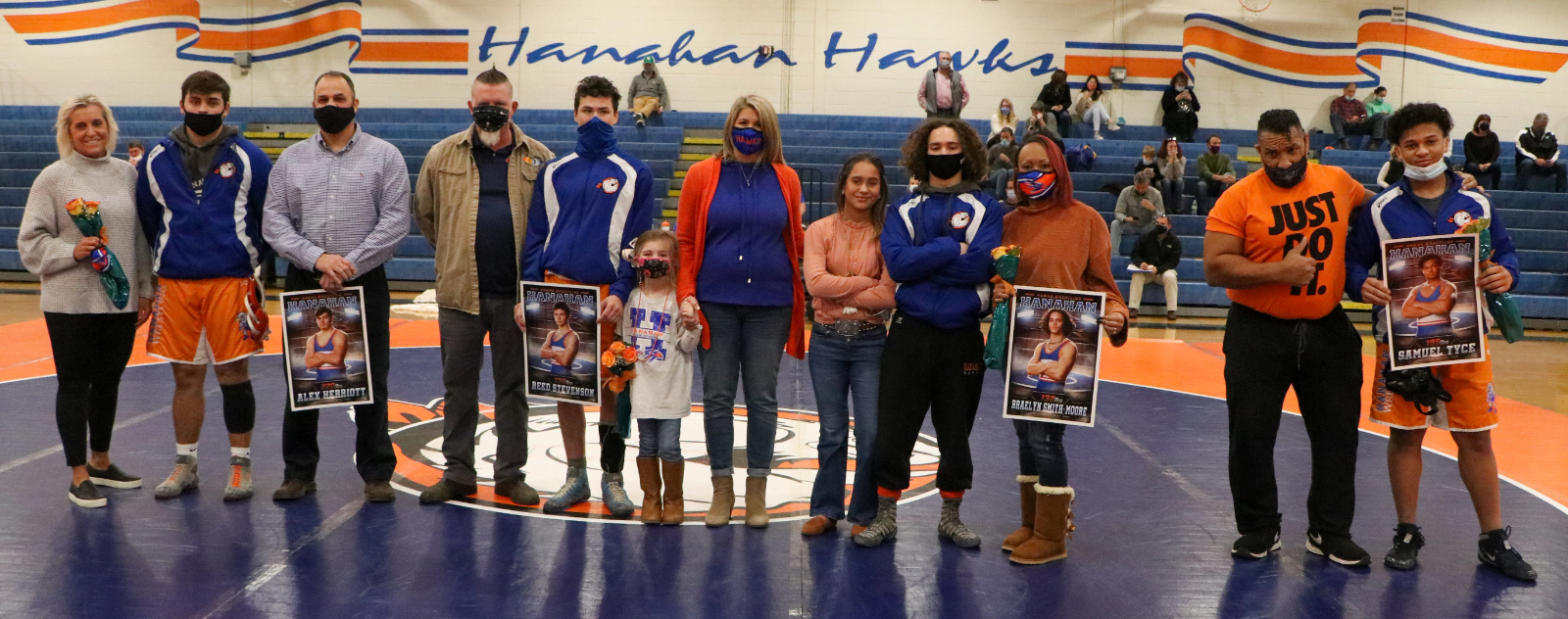1.13.2021 (PHOTO GALLERY):  Hanahan Varsity Wrestling vs Bishop England – Photos by Cyril Samonte