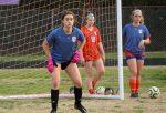 2.26.2021 (PHOTO GALLERY):  Hanahan Girls Varsity Soccer vs Goose Creek HS (scrimmage) - Photos by Cyril Samonte