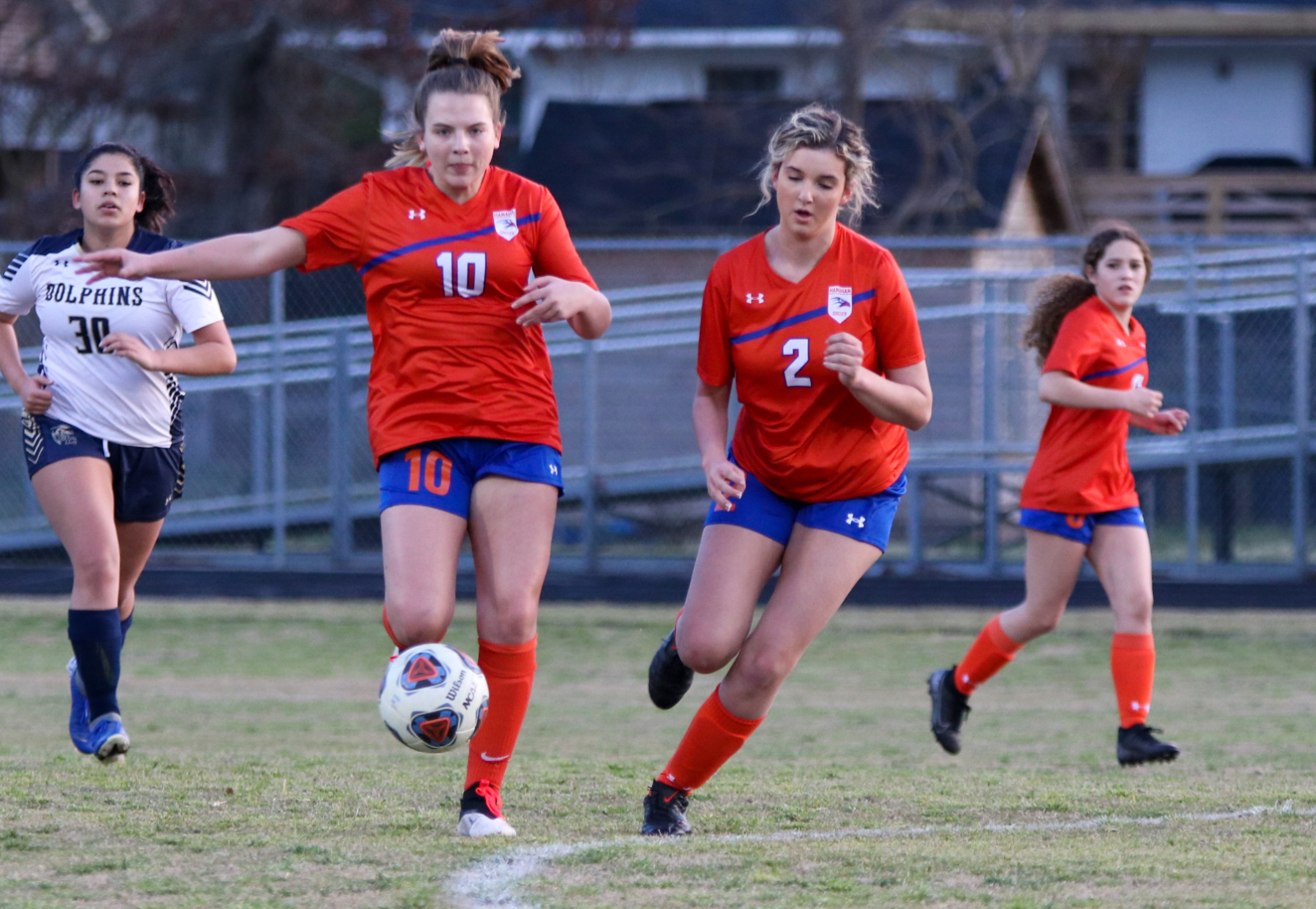 3.9.2021 (PHOTO GALLERY): Hanahan Varsity Girls Soccer vs Battery Creek HS – Photos by Cyril Samonte
