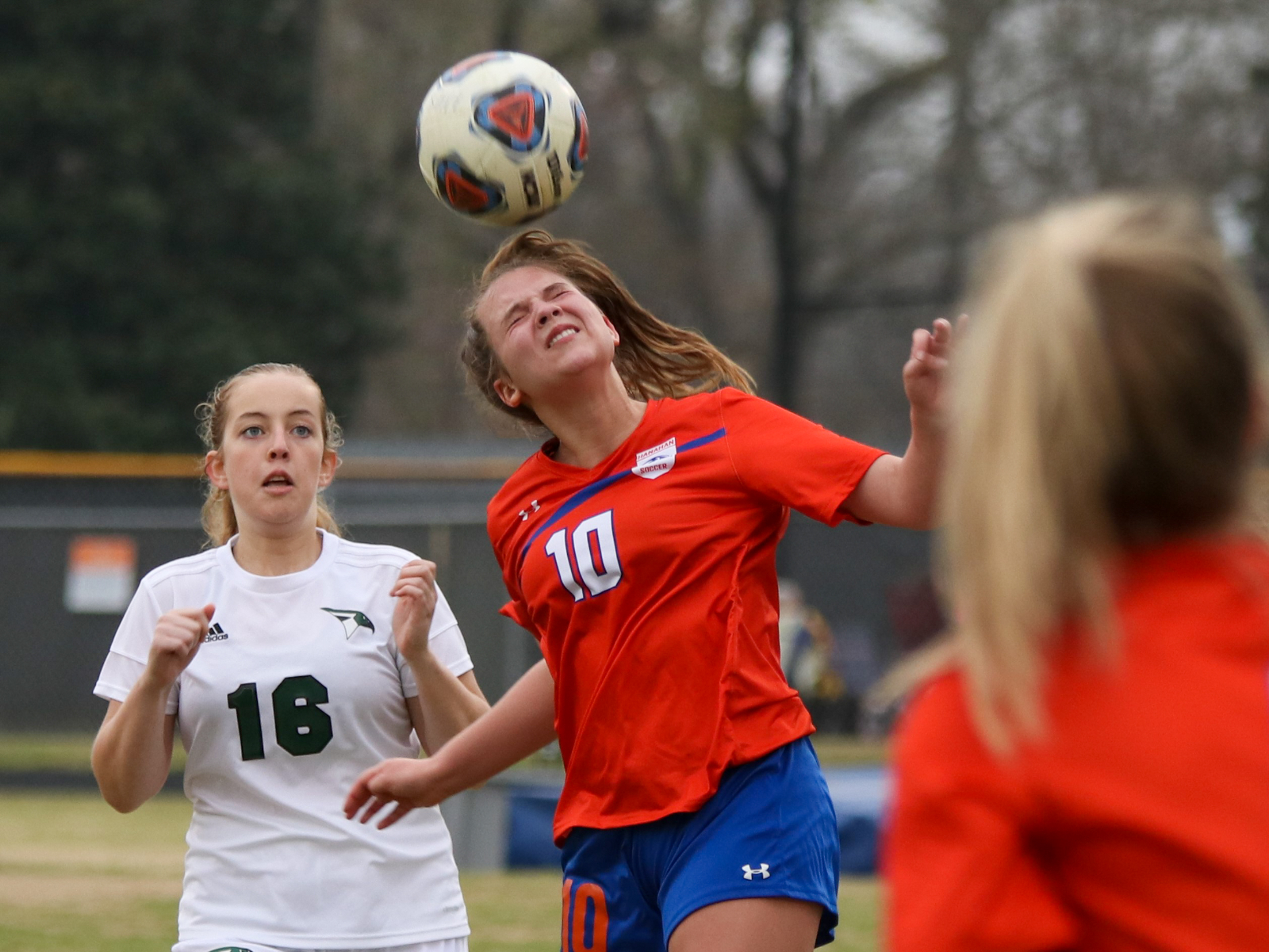 3.16.2021 (PHOTO GALLERY): Hanahan Varsity Girls Soccer vs Academic Magnet HS – Photos by Cyril Samonte