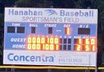 Varsity Baseball beats Bishop England tonight!
