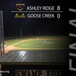 Boys Varsity Baseball beats Goose Creek 8 – 0