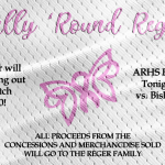 Rally 'Round Reger Tonight at Baseball Game!