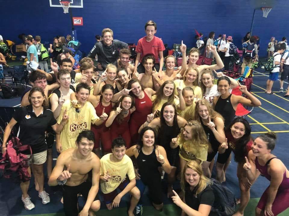 Boys and Girls Swim Team Both Region 8 Champs