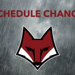 SCHEDULE CHANGE- Football
