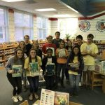 Swim Team Reads at Local Elementary School