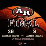 Girls Junior Varsity Basketball beats James Island Charter 20 – 9