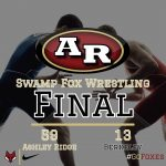 Boys Varsity Wrestling beats Berkeley 59 – 13