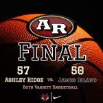 Boys Varsity Basketball beats James Island Charter 57 – 50