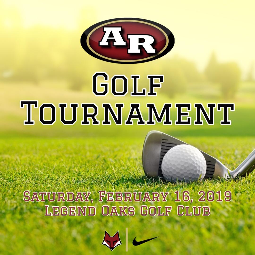 AR Golf Teams Golf Tournament Registration Info