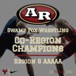 Wrestling Co-Region Champions!