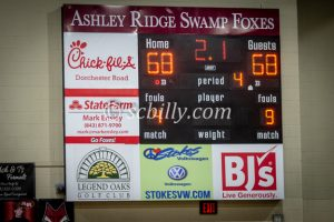 Ashley Ridge vs James Island Boys Basketball Playoffs