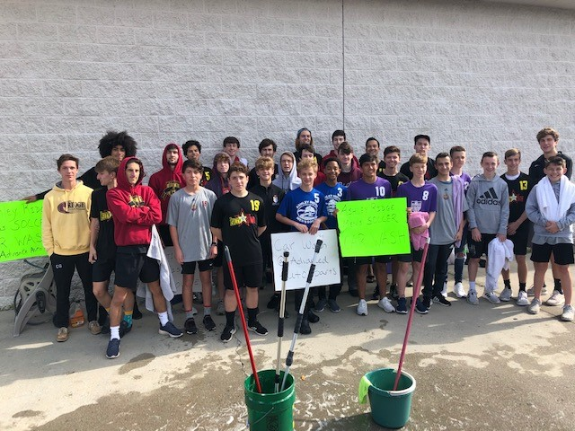 Men's Soccer Program Hosts Car Wash for A Cause Benefiting My Sister's House