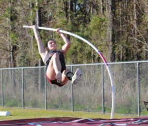 Track – Pole Vault in Action