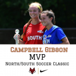 Campbell Gibson Named North/South Soccer Classic MVP