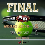 Girls Varsity Tennis beats Berkeley 5 – 1