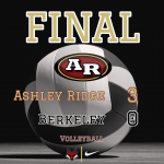 Varsity Volleyball beats Berkeley 3 – 0