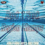 Undefeated Season and Back to Back Region Champs for Swim Team
