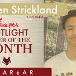 Student Athlete Spotlight – Jerren Strickland