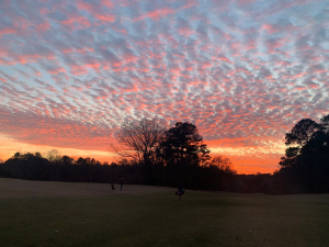Sunset on #18 at Legend Oaks