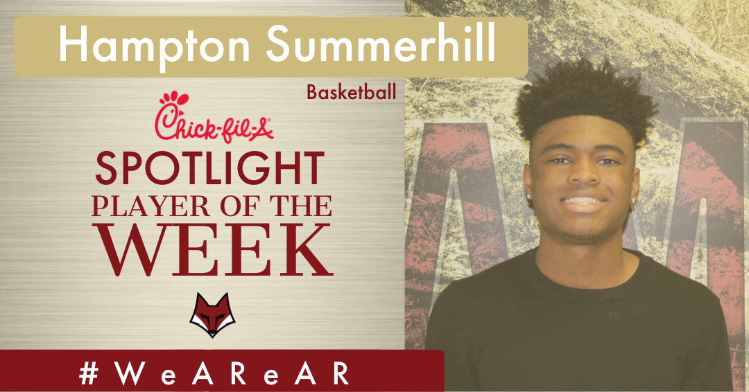 Spotlight Player of the Week – Hampton Summerhill