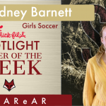 Spotlight Player of the Week – Cidney Barnett