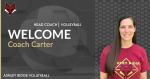 Welcome Coach Carter to ARHS Volleyball Program