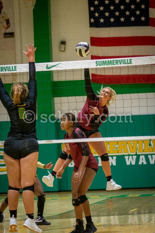 Ashley Ridge @ Summerville Volleyball