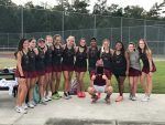 Girls Varsity Tennis survives scare against Chapin 5-1