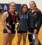 Lady Swampfox Wrestlers place in State Championship