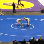 Steinbauer Captures 3rd Place and Sets School Record