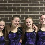 Waconia High School Girls Varsity Swimming beat Dassel-Cokato High School 101-85
