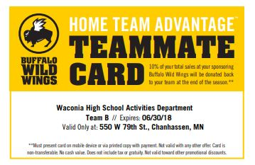 Buffalo Wild Wings Support the Wildcats!