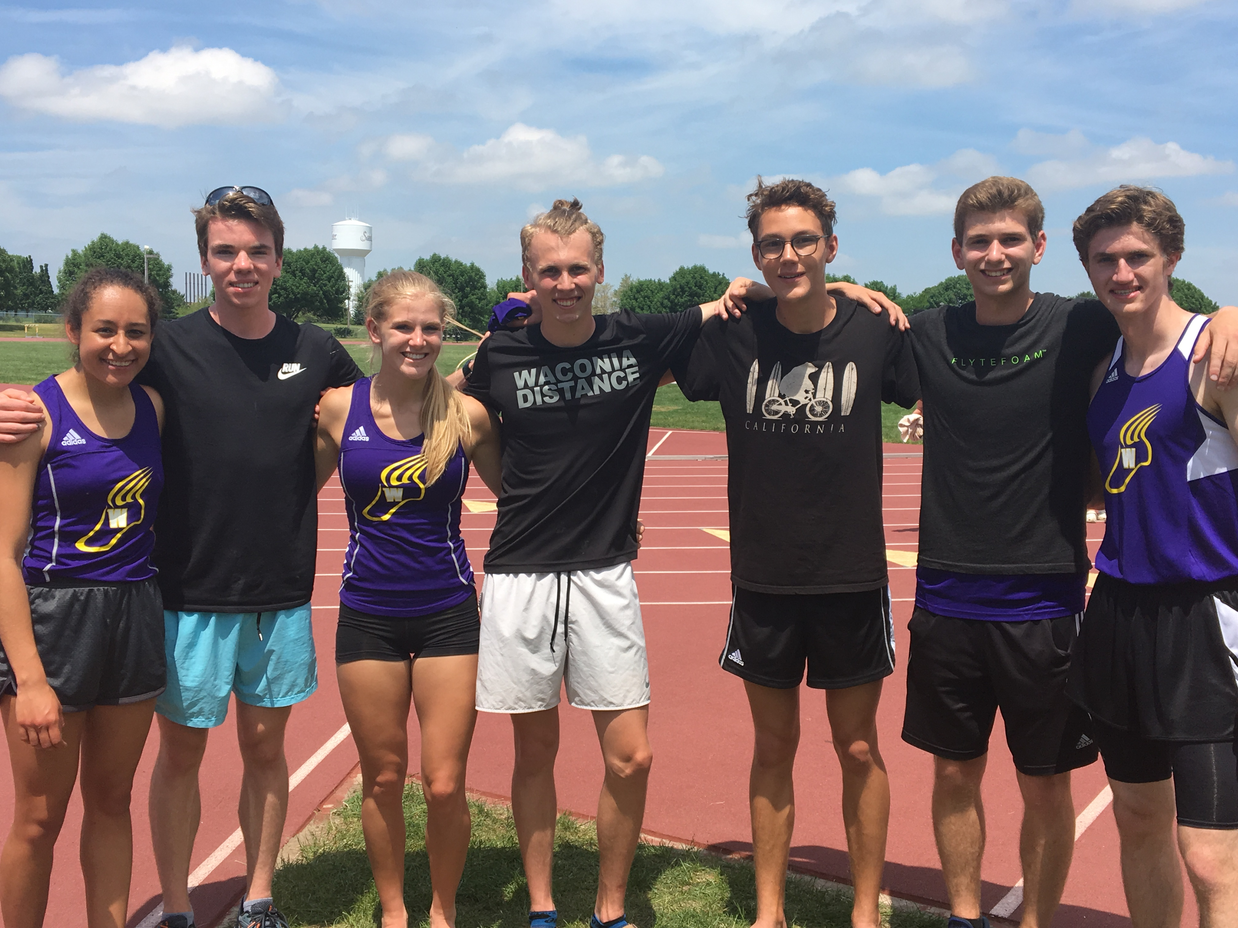 Track & Field Athletes to STATE!