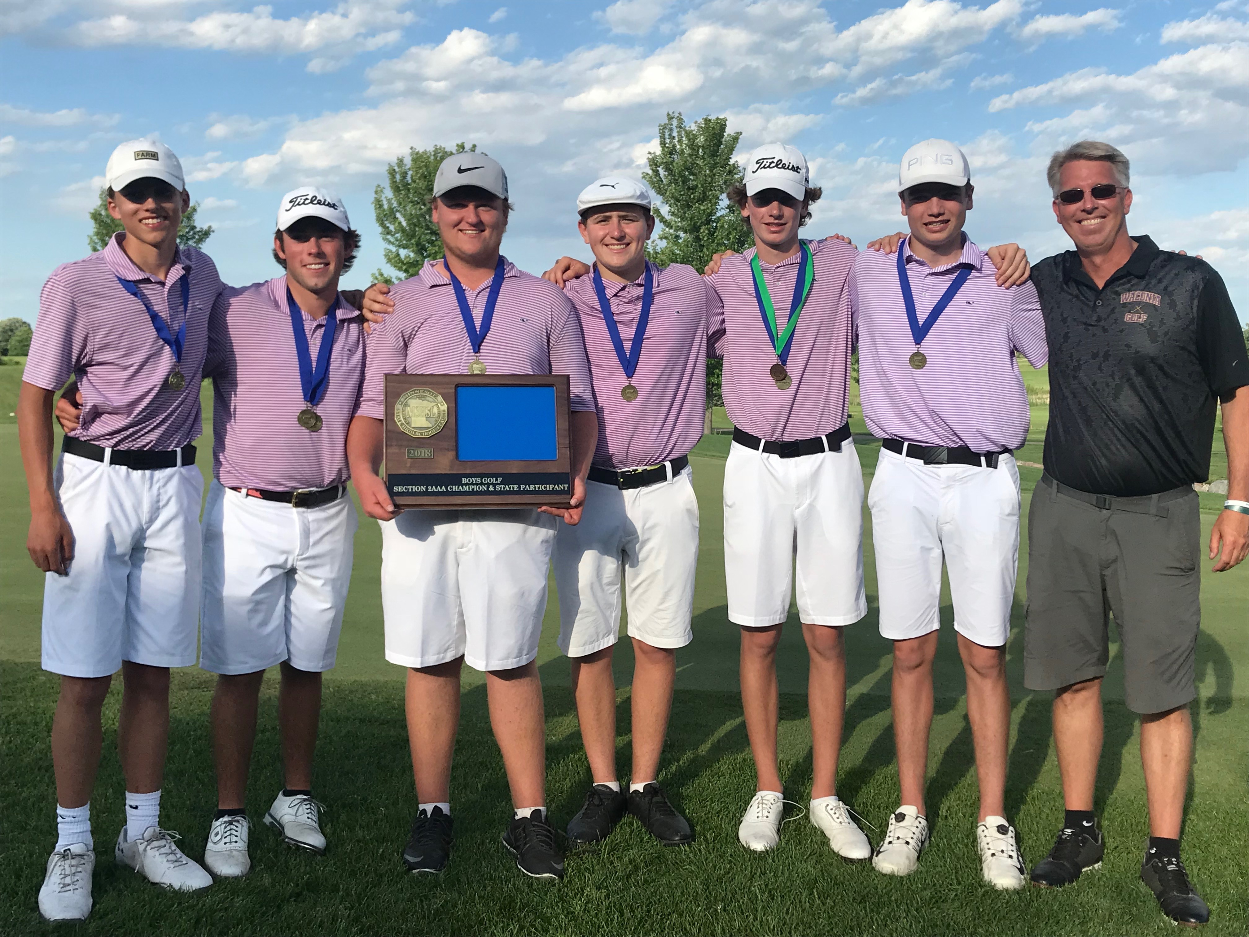 Boys Golf Team to STATE!