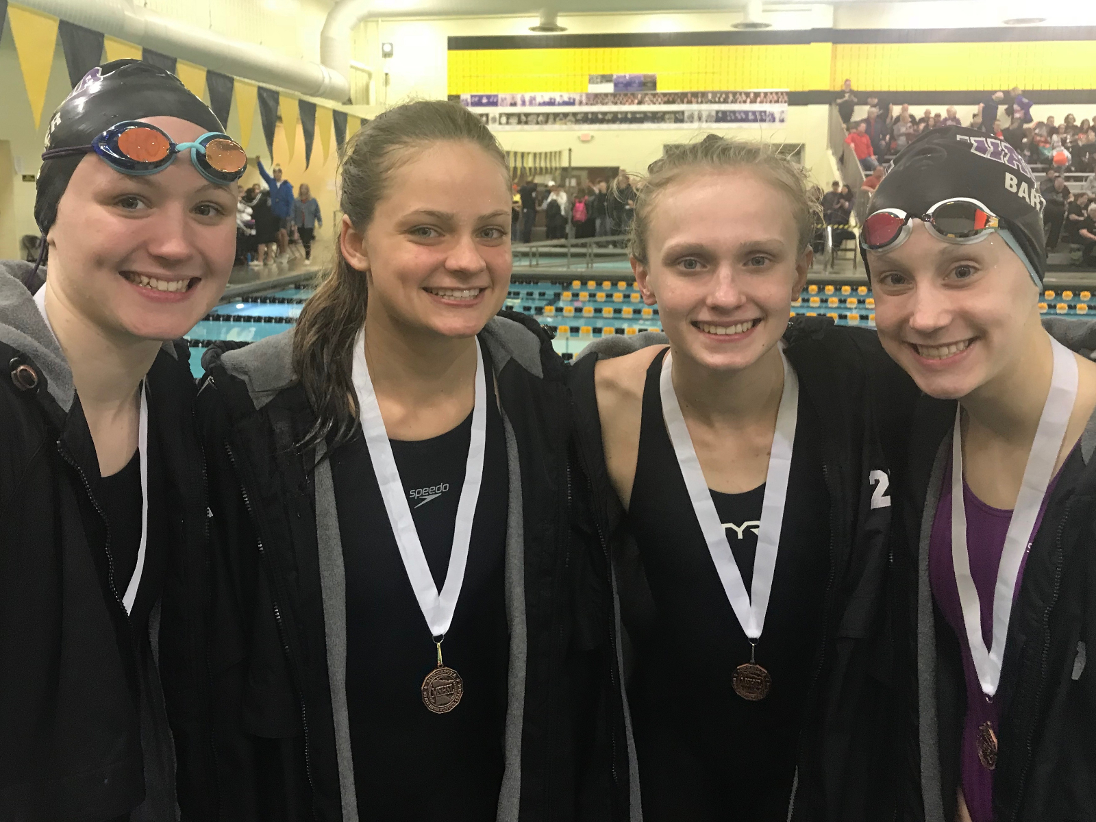 Wildcat Swimmers to STATE!