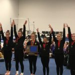 Gymnastics team advances 3 athletes to STATE!
