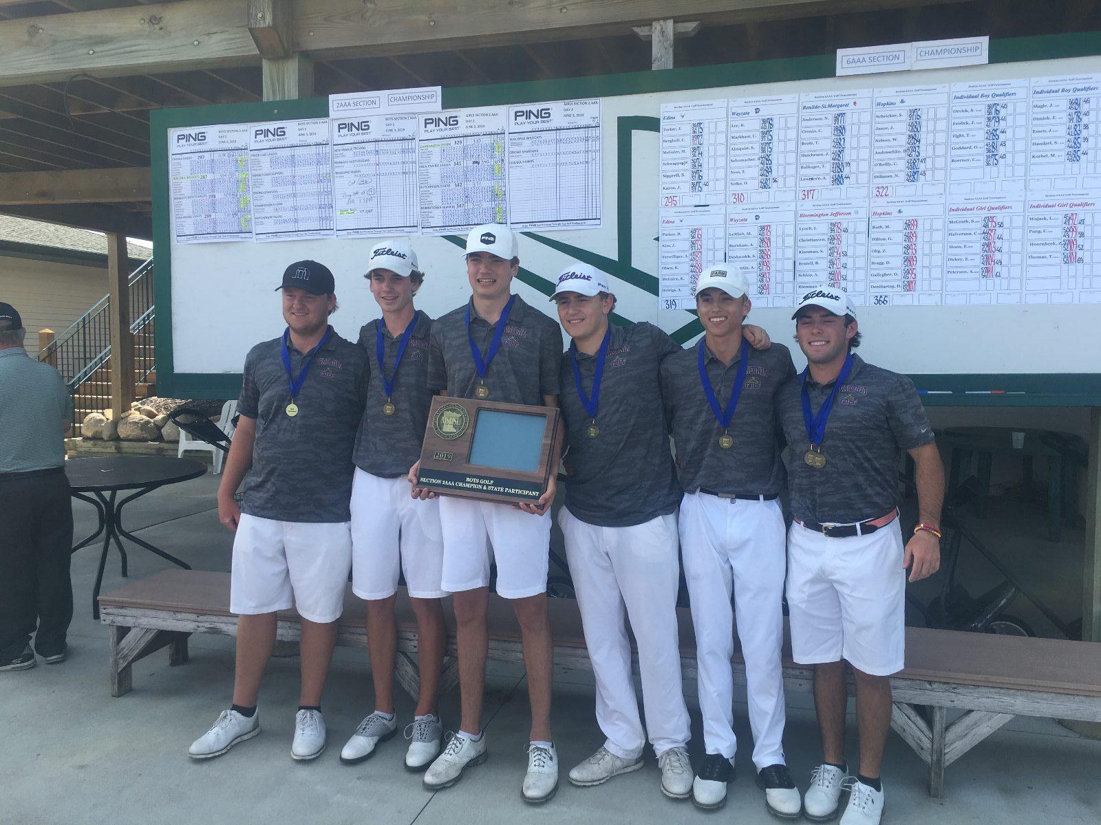 Boys Golf Team STATE BOUND!
