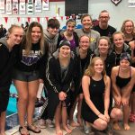 Wildcat Girls Swimming Qualify 8 Events for the State Meet