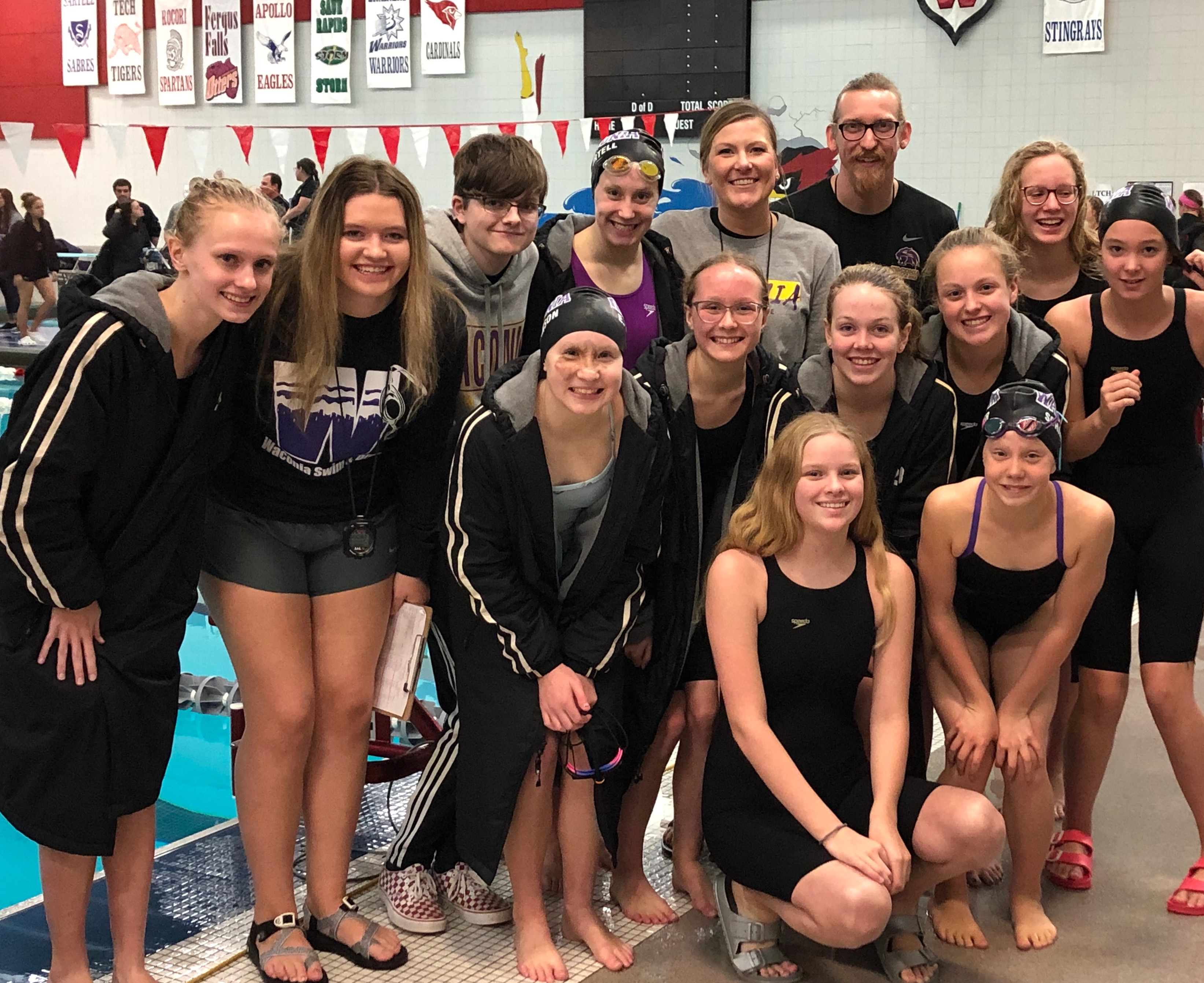 Swimmers to STATE!!!