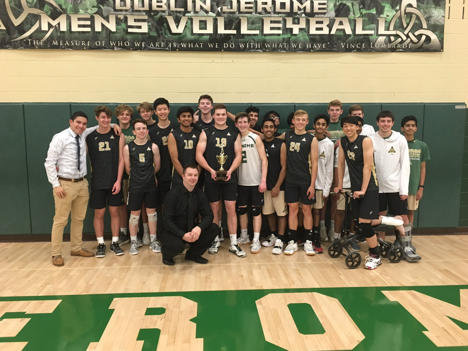 Season Recap: DJHS Men's Volleyball 2019