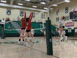 Girls Varsity Volleyball beats Thomas Worthington 3 – 2
