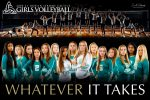 2020-2021 Girls Volleyball Team Poster