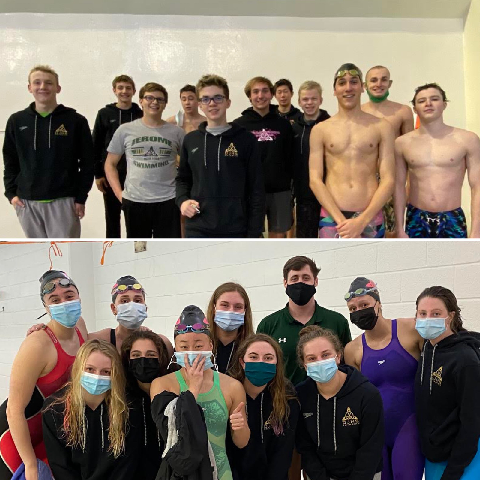 DJHS District Swimmers